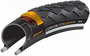 Continental Ride Tour Replacement Bike Tire - Extra Puncture Protection, E-Bike Rated City Trekking Bicycle Tire