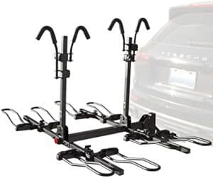 BV 4-Bike Bicycle Hitch Mount Rack Carrier for Car Truck SUV