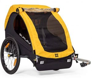 Burley Bee, 1 and 2 Seat Lightweight, Kid Bike-Only Trailer